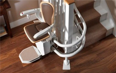 Curved Stairlift installers in Preston