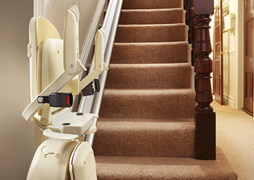 Warrington stairlift rental service