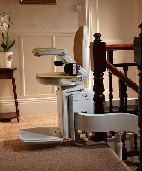 Curved Stairlift installers in Stafford