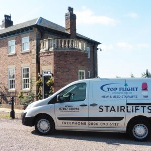 Curved Stairlifts Partington Companies